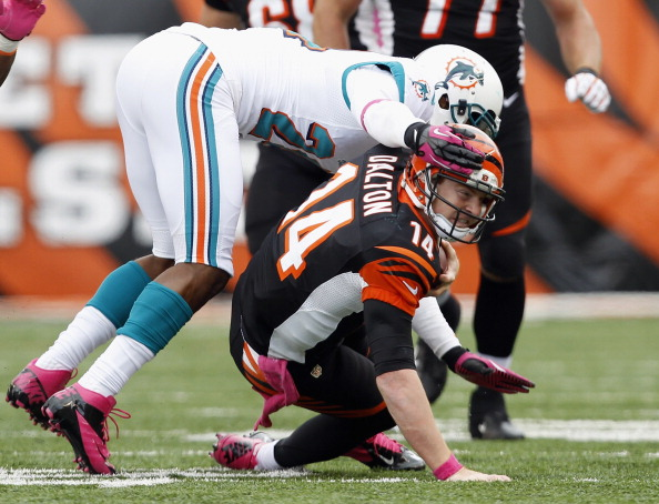 Bengals Win Streak Snapped in Flat 17-13 Loss to Dolphins