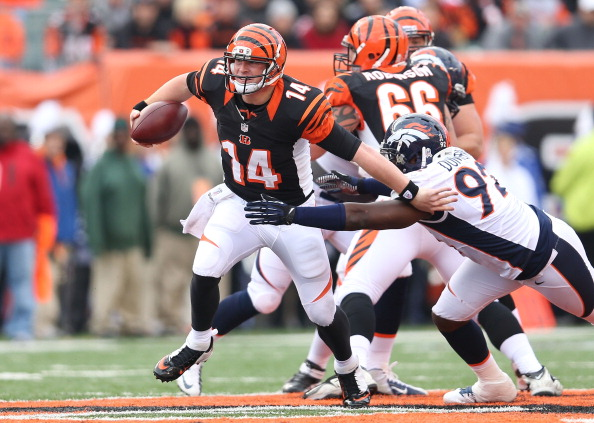 Bengals Can't Contain Manning; Fall to Denver 31-23