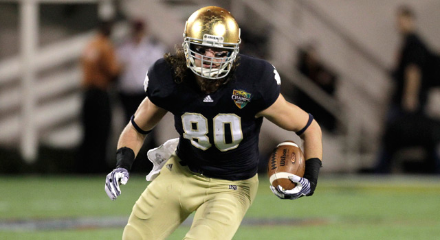 Bengals Take Notre Dame TE Tyler Eifert With 21st Pick In Draft