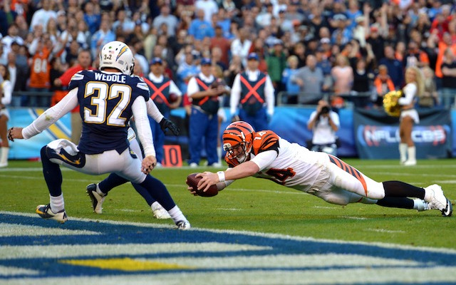 Bengals Fired Up At Chargers Post-Game Video