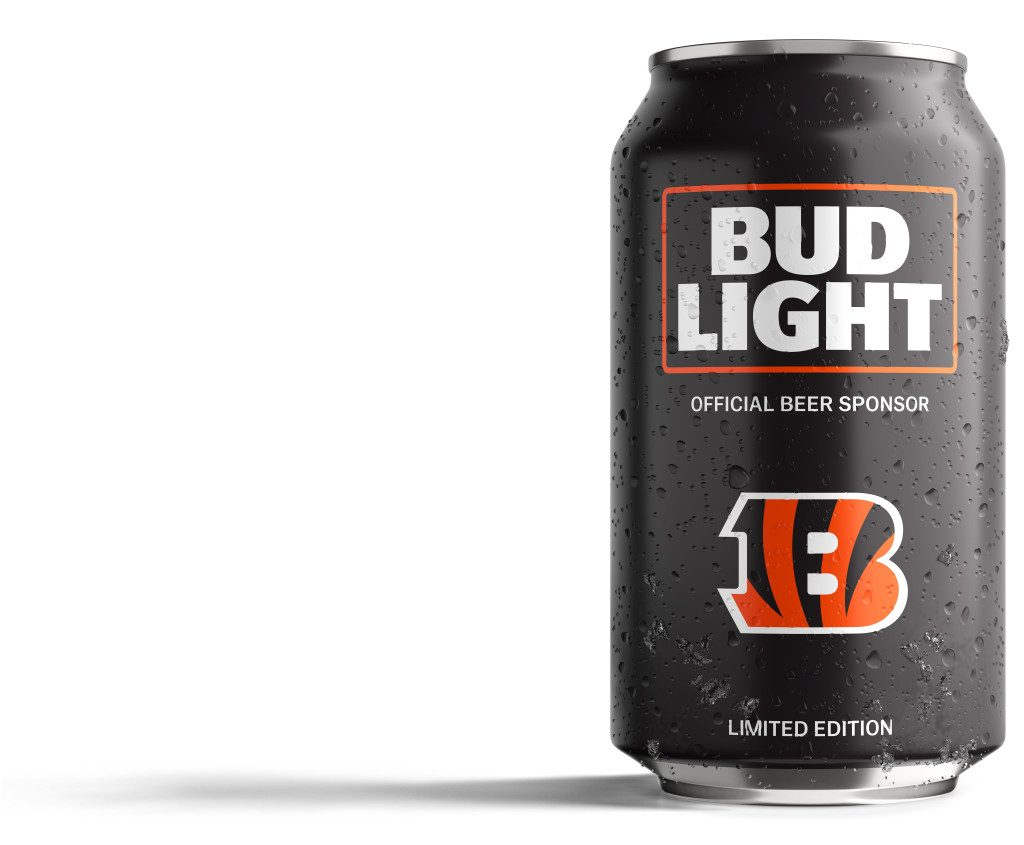 Bud Light Bengals Can